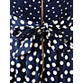Buy Closet Contrast Polka Dot Dress, Blue/White Online at johnlewis.com