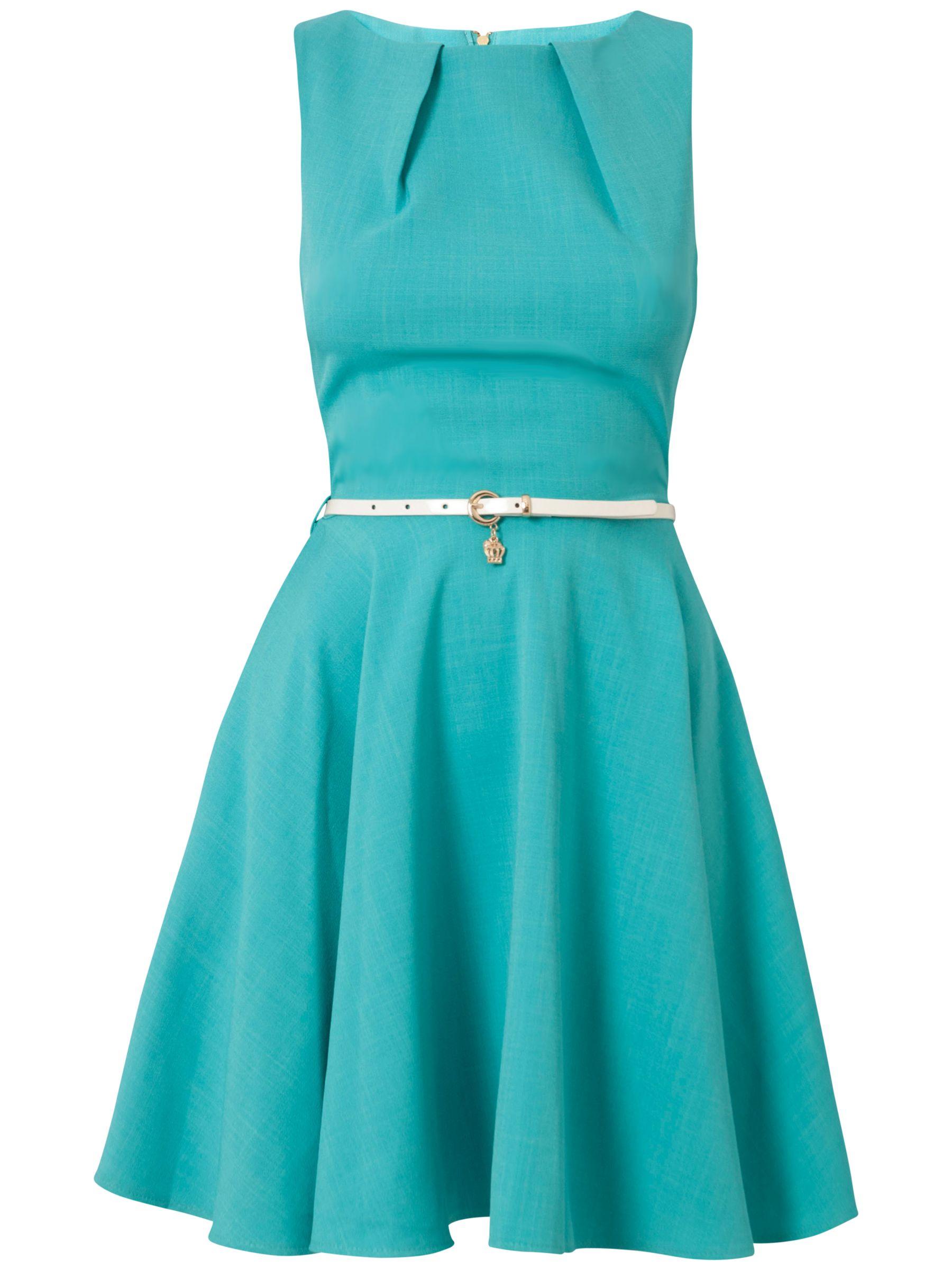 closet belt dress aqua, closet, belt, dress, aqua, 8|12|10|16|14, clearance, womenswear offers, womens dresses offers, women, womens dresses, special offers, 1143461