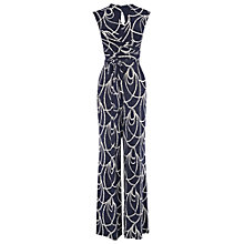 Buy Phase Eight Brittany Jumpsuit, Navy/Ivory Online at johnlewis.com