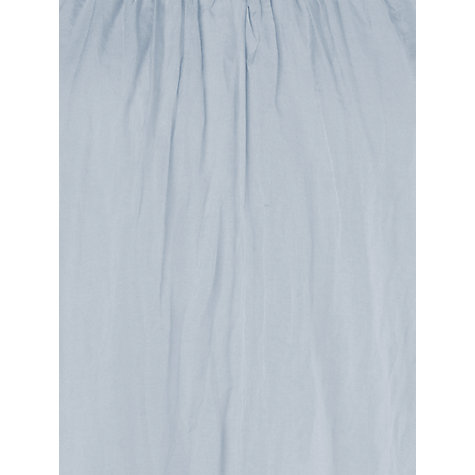 Buy Phase Eight Pietra Silk Blouse, Pale Blue Online at johnlewis.com