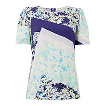 Buy Wishbone Bobby Patch Floral Top, Multi Online at johnlewis.com
