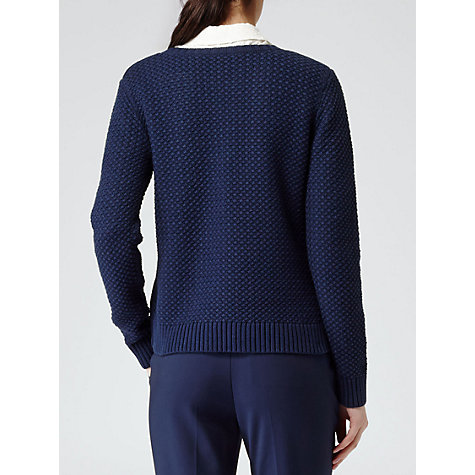 Buy Reiss Mila Jumper, Indigo Online at johnlewis.com