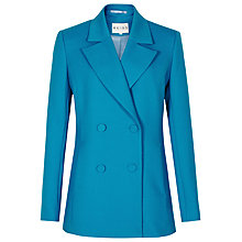 Buy Reiss Romoli Pea Coat, Blue Online at johnlewis.com