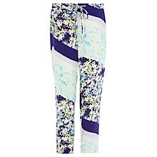 Buy Wishbone Paige Printed Trousers, Multi Online at johnlewis.com