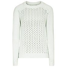 Buy Reiss Harper Jumper, Icicle Online at johnlewis.com