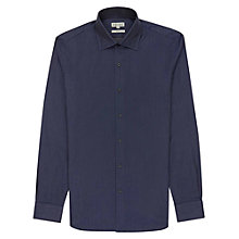 Buy Reiss Penton Stitch Detail Shirt, Navy Online at johnlewis.com