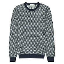 Buy Reiss Taylor Contrast Stitch Jumper Online at johnlewis.com