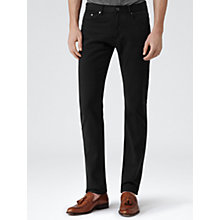 Buy Reiss 1971 Hunger Slim Fit Twill Jeans, Navy Online at johnlewis.com
