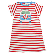 Buy Frugi Girls' Stripe Jersey Dress Online at johnlewis.com