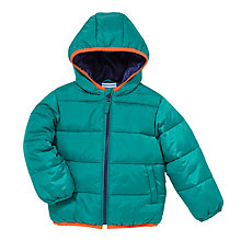 Buy John Lewis Roll Up Quilt Jacket, Green Online at johnlewis.com