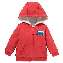 Buy John Lewis Campervan Hoody, Red Online at johnlewis.com