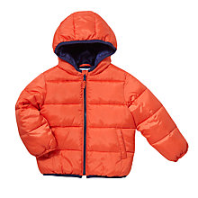 Buy John Lewis Roll Up Quilt Jacket, Orange Online at johnlewis.com