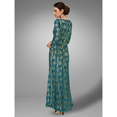 Buy Phase Eight Collection 8 Berkeley Full Length Dress, Marine Online at johnlewis.com
