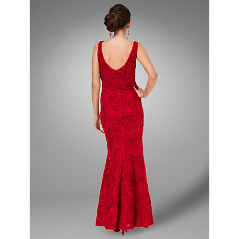 Buy Phase Eight Collection 8 Chelsea Full Length Dress, Scarlet Online at johnlewis.com