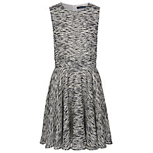 Buy French Connection Sahara Round Neck Dress, Acid Zest Multi Online at johnlewis.com