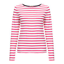 Buy Jigsaw Striped Jersey Top Online at johnlewis.com