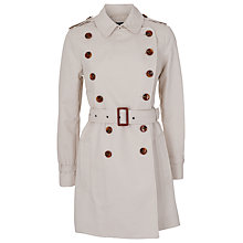 Buy French Connection Brule Trench Coat, Brule Online at johnlewis.com