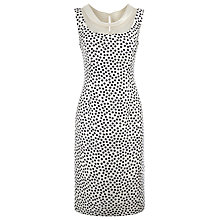 Buy Jacques Vert Square Spot Shift Dress, Multi Coloured Online at johnlewis.com