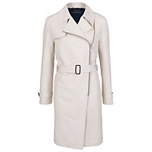Buy French Connection Freeway Belted Trench Coat, Brule Online at johnlewis.com