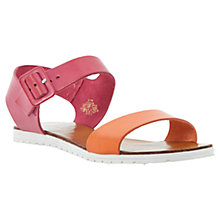 Buy Dune Jocelyn Leather Sandals, Pink Online at johnlewis.com