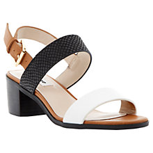 Buy Dune Finchy Sandals, Tan Online at johnlewis.com