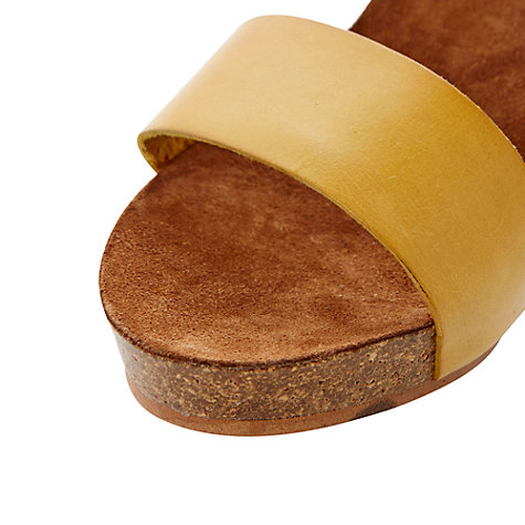 Buy Bertie Gina Leather Wedge Sandals Online at johnlewis.com