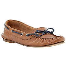 Buy Bertie Linda Leather Moccasin Loafers Online at johnlewis.com