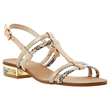 Buy Dune Fay Leather Sandals Online at johnlewis.com