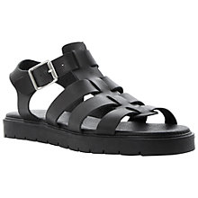 Buy Bertie Jarny Flat Leather Sandals Online at johnlewis.com