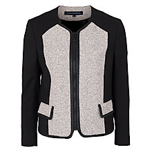 Buy French Connection Classic Cream Jacket, Black/Cream Online at johnlewis.com