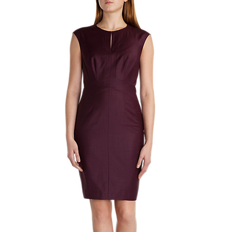 Buy Ted Baker Thalead Shiny Lavanta Suit Dress, Grape Online at johnlewis.com