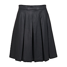 Buy French Connection Roller Skater Skirt, Black Online at johnlewis.com