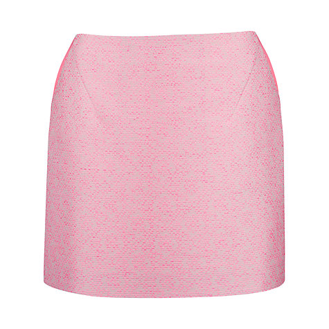 Buy Ted Baker Juleen Boucle Mini Skirt, Bright Pink Online at johnlewis.com