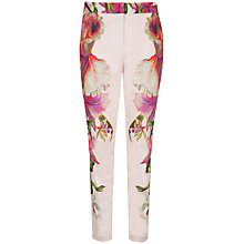 Buy Ted Baker Ericea Symmetrical Trousers, Nude Pink Online at johnlewis.com