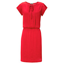 Buy Jigsaw Crocus Pleat Front Dress Online at johnlewis.com