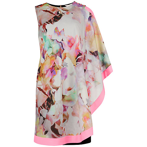 Buy Ted Baker Elsee Electric Day Dream Tunic Dress, Lemon Online at johnlewis.com