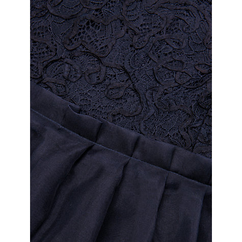 Buy Ted Baker Jessika Lace Top Skirt Dress, Navy Online at johnlewis.com