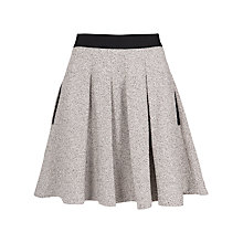 Buy French Connection Classic Cream Skirt, Black/Cream Online at johnlewis.com