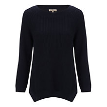 Buy Jigsaw Ribbed Raglan Sweater Online at johnlewis.com