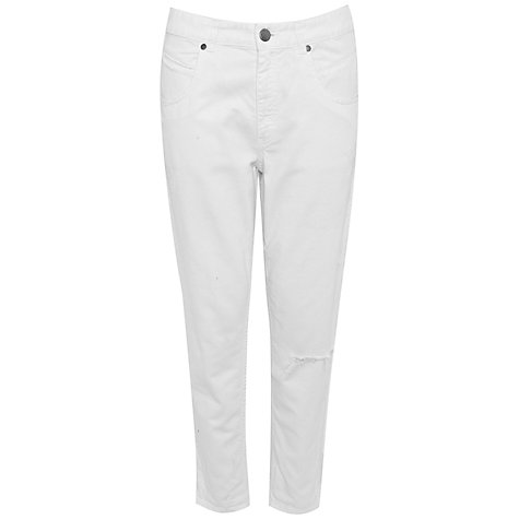 Buy French Connection Venice Jeans, Venice White Online at johnlewis.com