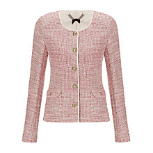 Buy Jigsaw Tweed Knit Jacket Online at johnlewis.com