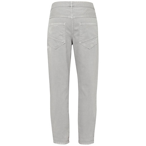 Buy French Connection Distressed Jeans, Powder Grey Online at johnlewis.com
