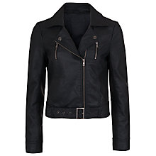 Buy French Connection Albany Biker Jacket Online at johnlewis.com