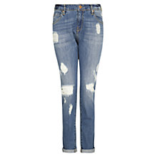 Buy Mango Angie Boyfriend Jeans, Medium Blue Online at johnlewis.com