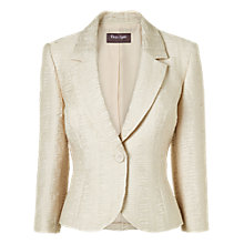 Buy Phase Eight Roma Simona Jacket, Porcelain Online at johnlewis.com