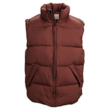 Buy Selected Homme Whelm Gilet, Red Online at johnlewis.com