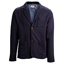 Buy Selected Homme Niles Sweater Blazer, Navy Online at johnlewis.com