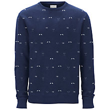 Buy Selected Homme Rower Print Sweatshirt Online at johnlewis.com