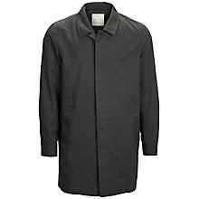 Buy Selected Homme Tribe Trench Coat, Black Online at johnlewis.com
