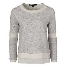 Buy French Connection Speckle Jumper, Porcelain Marl Online at johnlewis.com